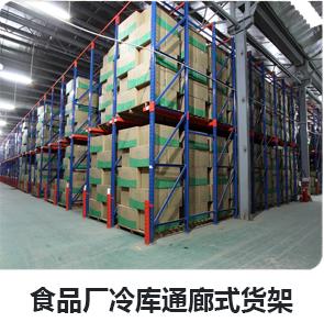 食品厂冷库通廊式千亿体育网址平台
